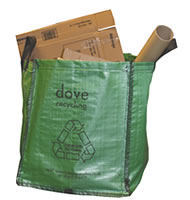 Use recycle bag for your waste collection